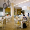 buffet lunch at