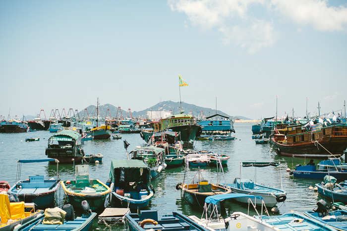 travel; hong kong – cheung chau island