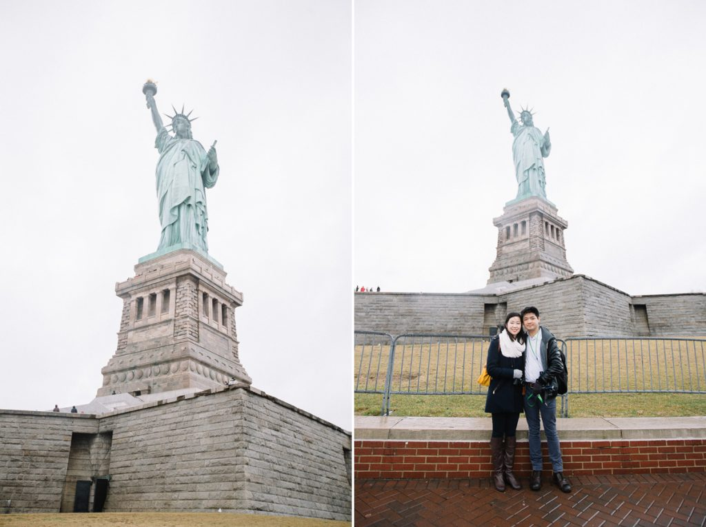 Date with Lady Liberty