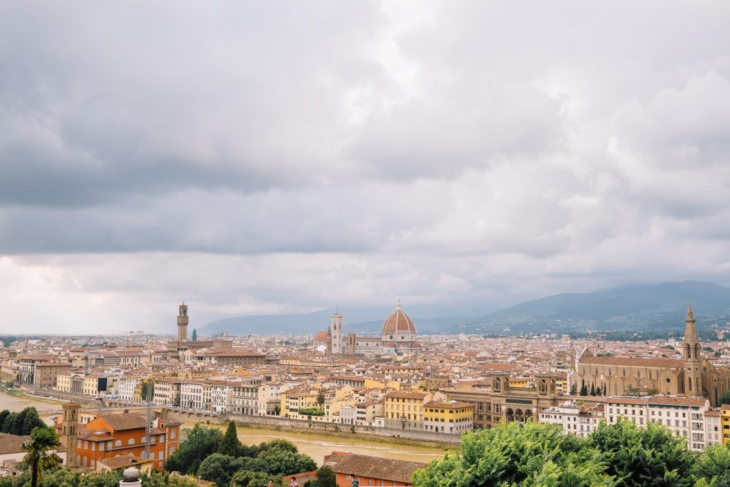 Florence from a far