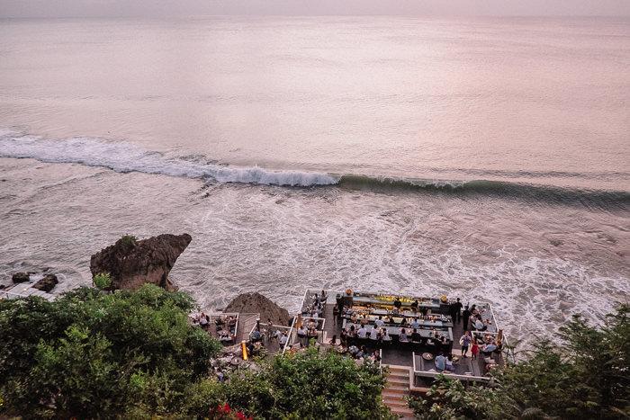 rock bar at ayana resort, bali