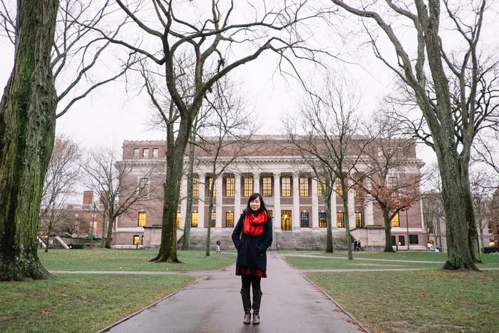 Made it to Harvard!