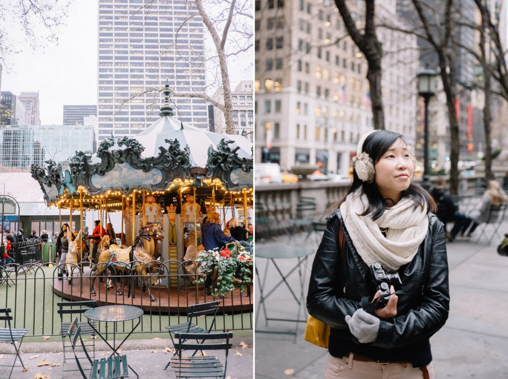 Bryant Park Holiday Market, NYC