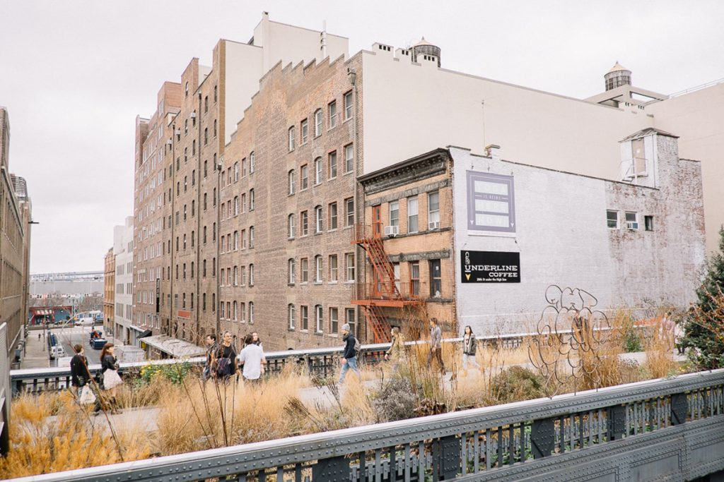 Walking the High Line, NYC