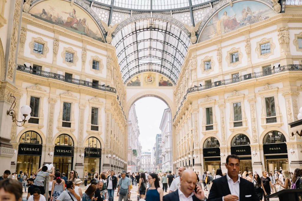 First hours in Milan